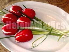Tomato Tulip Salads - YouTube