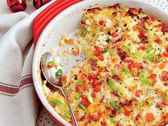 Cheesy Hash Brown Casserole Recipe | MyRecipes