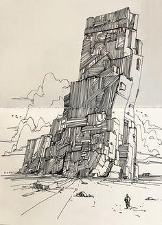 Picks From Sketchbook : Inktober17, Amir Zand on ArtStation at https://www.artstation.com/artwork/5GwgW