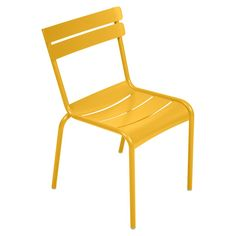 Originally created in 1923 for Paris's Jardin du Luxembourg , this iconic side chair gained a fresh, modern look with a redesign by Frédéric Sofia for France-based Fermob. The versatile chairs are expertly crafted of lightweight yet stu… Garden Seating, Garden Chairs, Patio Chairs, Side Chairs, Outdoor Chairs, Dining Chairs, Outdoor Furniture, Garden Table, Garden Furniture