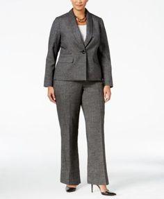 6e56f12eeccba JM Studio by John Meyer Plus ButtonFront 2Piece Pant Suit  Dillards ...