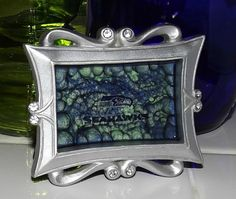 Seattle Seahawks Inspired Hand Painted Marble by GlassByPriscilla