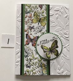 Searing, Mara Lee - Outlook Web App Greeting Cards Handmade, Butterfly Cards Handmade, Embossed Cards, Stamping Up Cards, Card Sketches, Paper Cards, Creative Cards, Flower Cards, Homemade Cards