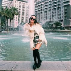 BTS shooting w/ mega babe 💋 Babe, Fur Coat, Photo And Video, Jackets, Shopping, Instagram, Fashion, Down Jackets, Moda
