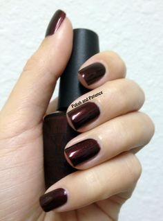 OPI Royal Rajah Ruby presented by Polish and Patience - www.PolishAndPatience.com
