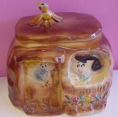 Vintage Cookie Jars For Sale 30 Best Flintstones Cookie Jars Images On Pinterest  Biscuit
