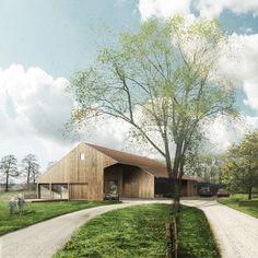 Woonschuur - Transformatie van schuur naar woning. New Rural Courtyard / Nieuw Erf, Ziegler | Branderhorst