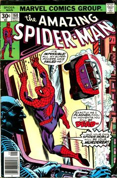 For sale marvel comics amazing spiderman 160 stan lee john romita artwork gil kane jack davis emorys memories. Comics Spiderman, Marvel Comics, Marvel Comic Books, Marvel Heroes, Comic Books Art, Book Art, Amazing Spiderman, Spiderman Classic, Univers Marvel