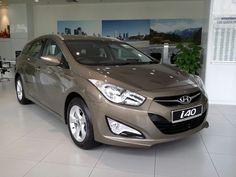 The Hyundai i40....