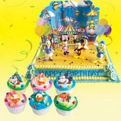 Cake With Cupcakes Goldilocks : Pinterest   The world s catalog of ideas