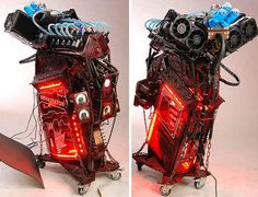 20 Amazing Custom Computer Cases AWWWE YEAH!!! And pair these computer cases with an Evodesk gaming desk?!? Look out =D http://www.evodesk.com/gaming-desk