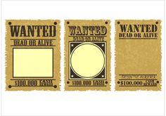 Wanted Poster Vectors