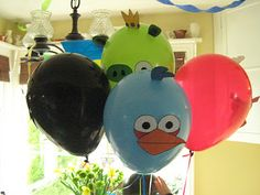 Rindy Mae: Angry Birds Birthday Party