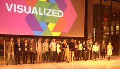 Binx and I each spoke at the Visualized conference last week in New York, along with many friends and heros