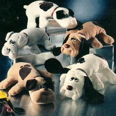 Pound Puppies! I still have mine [;