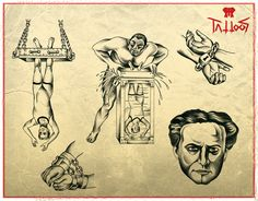 Houdini flash available to tattoo