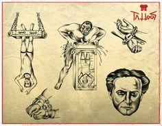 Houdini flash available to tattoo