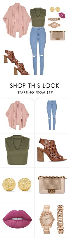 """""""Hanan."""" by elliee16 ❤ liked on Polyvore featuring Melissa McCarthy Seven7, Glamorous, New Look, Carvela, Carolina Bucci, Chanel, Lime Crime, Jennifer Lopez and plus size clothing"""
