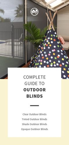 Outdoor blinds that are perfect for your pergola, verandah or patio Outdoor Blinds, Be Perfect, Pergola, Patio, Outdoor Pergola, Outdoor Shutters, Terrace