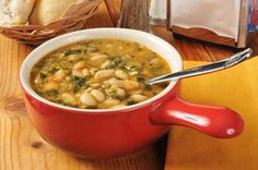 White Bean And Kale Soup Is High In Fiber