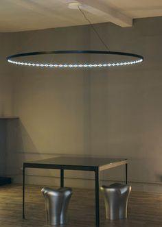 Suspension Omega / LED - Ø 200 cm Blanc - Le Deun