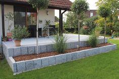 Home Landscaping, Front Yard Landscaping, Back Gardens, Small Gardens, Indoor Garden, Outdoor Gardens, Cards Ideas, Ideas Para El Patio Frontal, Real Plants