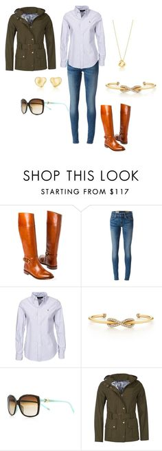 """""""Walking The Glen"""" by ladyspartan ❤ liked on Polyvore featuring Polo Ralph Lauren, Tiffany & Co., Elsa Peretti and Barbour"""