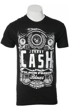 Johnny Cash Men's T-Shirt JC1823
