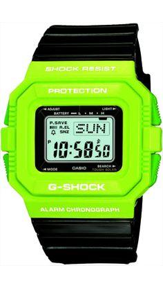G-Shock Watch Neon