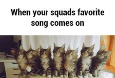 When your squad's favorite song comes on GIF