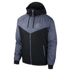 Men's Jacket, Nike Jacket, Football Jackets, Windrunner Jacket, Milan, Nike Air, Black, Fashion, Chains
