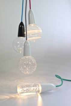 NUD Led light....I want the clear version with white socket