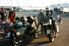 """It started in 1994 - the HDL motorbike tours that is. We hadn't invented a name for our """"club"""" of three at that time, that came later. Mine was the K100RS (16v) with the reggie JC-320. I liked to think that the JC stood for Jouko's cycle. Our first trip headed for Norway and the land of mountains and fjords deeply impressed us."""