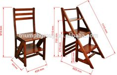 New Design High Quality Function Wooden Ladder Chair .- Source New Desi. New Design High Quality Function Wooden Ladder Chair .- Source New Desi. Tuscan Style Home Plan - Diy Furniture Decor, Folding Furniture, Space Saving Furniture, Steel Furniture, Furniture Projects, Furniture Plans, Furniture Design, Murphy Furniture, Furniture Upholstery