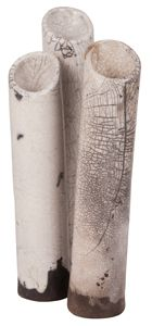 urban zen thin raku cylinder vase , look they are like the ones you have .