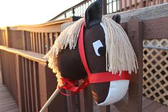 Stick Horse, Organic materials, Hobby Horse, Handmade, Stick Pony, Little Cowboy, Cowgirl, American Western Toy