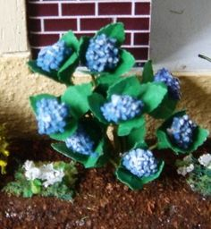 how to: 1/48th scale hydrangeas