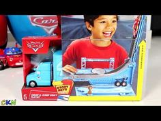 21050ad24 Disney Cars Giant Surprise Egg Lightning McQueen Toys Unboxing and Opening  Fun With Ckn Toys tv