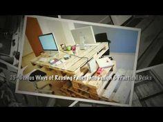 #BestOf, #Ideas, #Office, #PalletDesk, #RecycledPallet