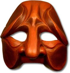 Tartaglia Commedia Mask 2