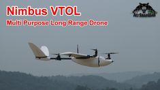 Nimbus VTOL Ultimate Long Range Surveillance VTOL Drone