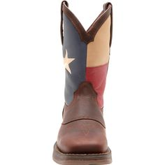 Men's Texas Flag Pull-On Western Boot