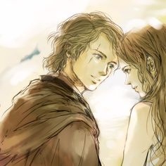 Ok, I'm going to assume every SW fan of Skywalker AU's has seen this –> おひるね by Nico. But I don't think anyone has seen this ^ before, at least not for a very long time. I found this image, albeit...