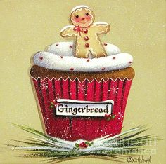 Cupcake for Christmas!