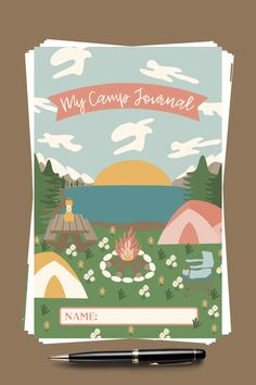 Enhance lds Girls Camp!This journal makes camp memorable for your yw.They get personal development goals & record progress throughout the week & beyond.Whether you'll do a virtual, day or traditional sleepaway camp, this digital download will delight.It has a My Camp Journal cover, All About Me pg, My Camp Goals pg(featuring 4 personal growth areas), Daily journal pgs, Daily personal growth reflection pgs, Testimony pgs, Blank journal pages,Keep in Touch pgs, Autograph pgs,Girls Camp Awards pg Church Camp, Lds Church, Blank Journal, Daily Journal, Girls Camp Awards, Girls Camp Gifts, Secret Sister Gifts, Sleepaway Camp, Youth Camp