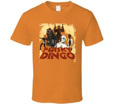 Frisky Dingo Animated TV Series Aged Look T Shirt