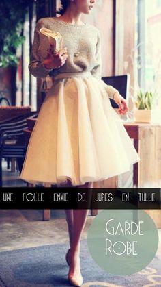 Garde-robe: une folle envie de jupes en tulle