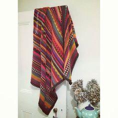 Big cosy Spice of Life blanket  - all credit for the lovely pattern to @sandracherryhrt  #blanketspam #snuggle #stylecraftdk #crochet #crochetersofinstagram #crochetaddict #wip #makersgonnamake #shopsmall #supportlocal #handmade #makersvillage @makersvillage #craftsposure @craftsposure #SCtreblemaker #thehandmadeparade @thehandmadeparade #lukh #handmadeblanket #crochetblanket #clevercrafters