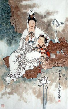 Kwan Yin with child* Arielle Gabriel's memoir The Goddess of Mercy & The Dept. of Miracles, a unique tale of a mystic suffering financial devastation among the world's richest ex-pats *