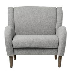Bloomingville Chill Chair Light Grey Wool